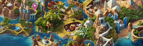 saga heroes map