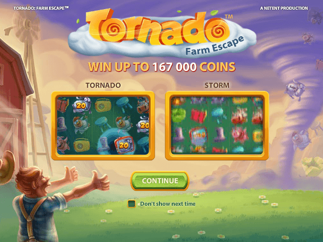 om tornado farm escape via netent
