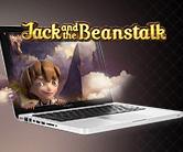 jack and the beanstalk på laptop