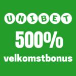 500 bonus unibet