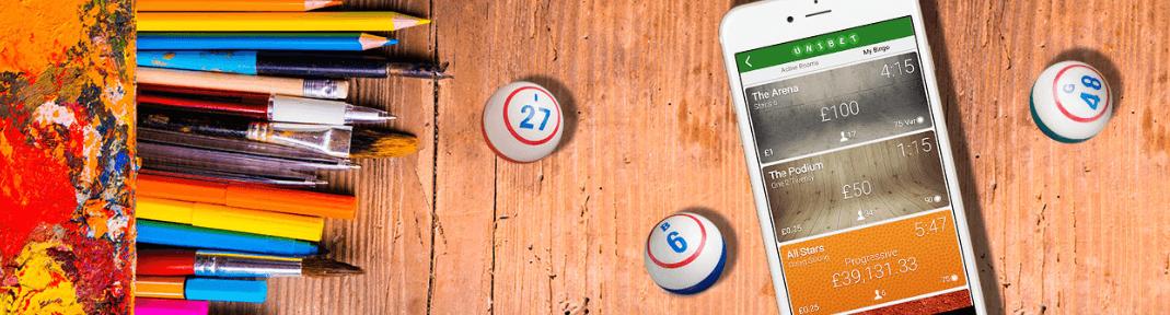 spill mobil bingo