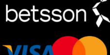 Innskudd og uttak med Visa og MasterCard hos Betsson