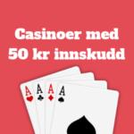 50 kr deposit