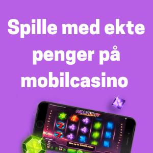 ekte penger på mobilcasino