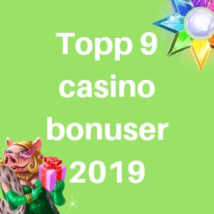 beste casino bonuser 2019