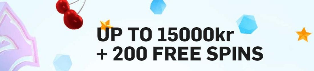 betfair 15 000 kr bonus + 200 free spins