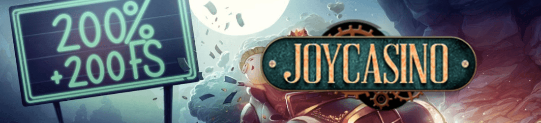 joy casino 20 000 kr bonus + 200 free spins