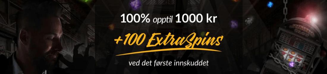 shadowbet 1000 kr bonus + 100 spins