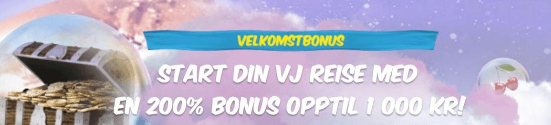 vera john 1000 kr bonus