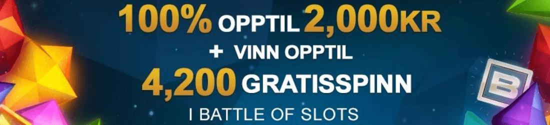 videoslots 100% bonus upp till 1000 kr
