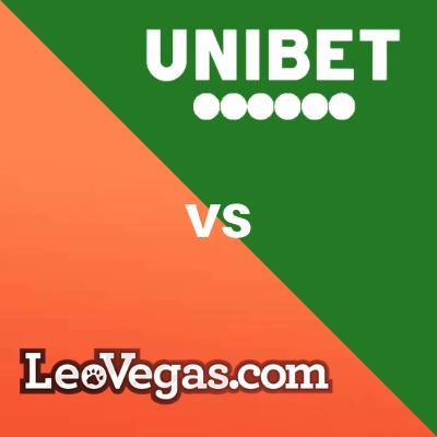compare unibet and leovegas NO
