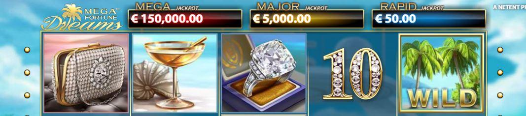 spill mega fortune dreams på nett