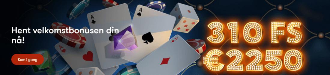 frank casino NO 20 000 kr bonus og 310 fs