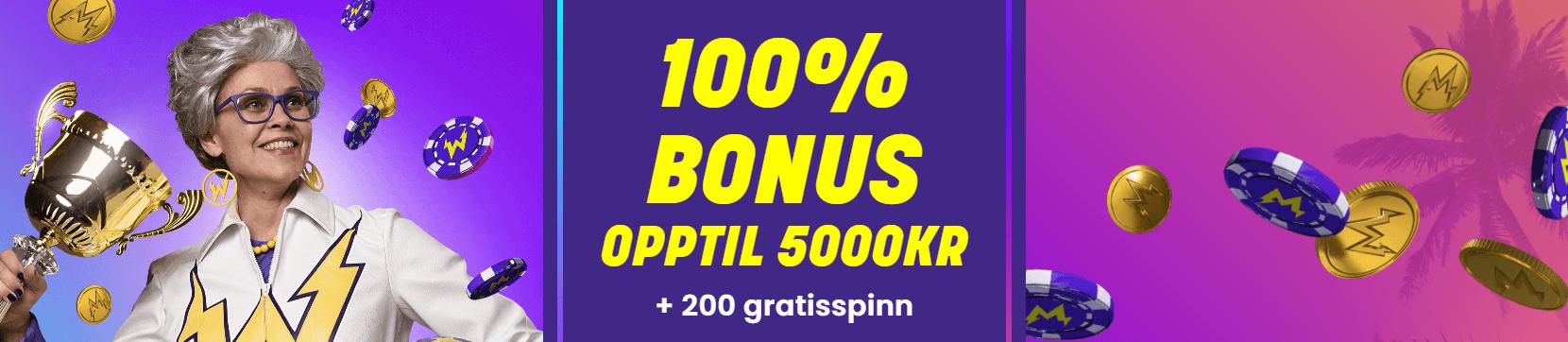 wildz NO 100% bonus opptil 5000 kr + 200 free spins