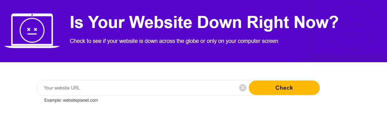 Is Your Website Down Right Now?